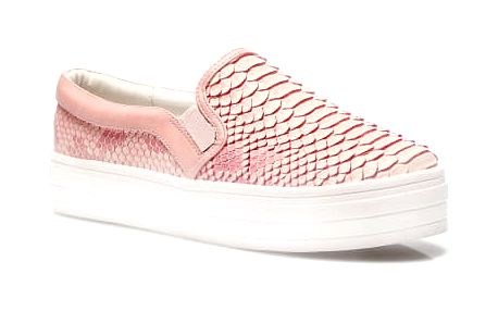 Dámské slip on tenisky Aria 022 růžové
