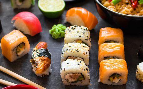 Running Sushi VIVO! Hostivař - All You Can Eat včetně grilování
