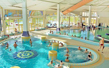 Lázeňský Sárvár pohádkově: 4* hotel Park Inn s neomezeným vstupem do termálů a polopenzí + dítě do 5,9 let zdarma