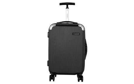 Černé kabinové zavazadlo Travel World Luxury, 55 x 34 cm
