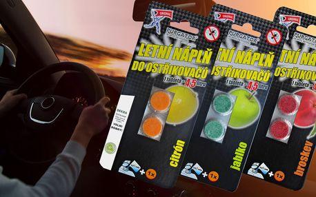 Sada 6 tablet do ostřikovače s ovocnou vůní