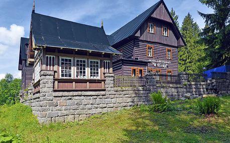 Špindlerův Mlýn v létě aktivně v romantickém hotelu v centru + bobová dráha, jízdenky na Špindlerovku, mapa a další slevy
