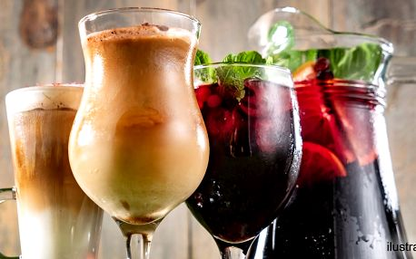Letní drinky v Dlouhé: limonáda, kafe či Aperol