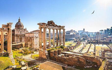 Řím a koupání v Ostii: 5denní zájezd pro 1 osobu + 2× ubytování