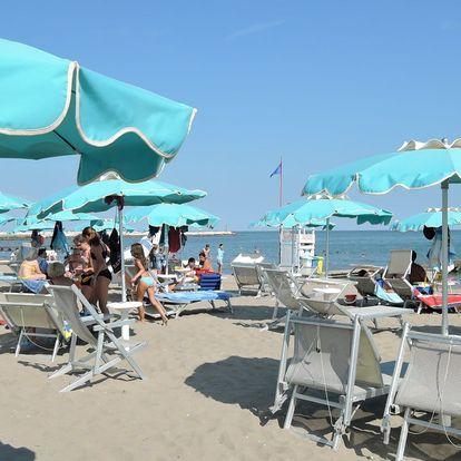 Caorle: dovolená v apartmánu 180 m od pláže