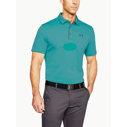 Tričko Under Armour Tech Polo Zelená