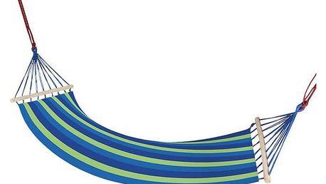 Maxy 57216 Zahradní houpací síť s výztuhou 83x200 cm modrá
