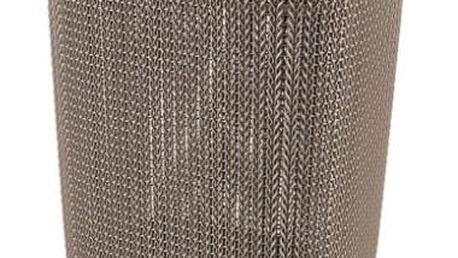 CURVER KNIT Koš na špinavé prádlo, hnědý 57 L 03676-X59