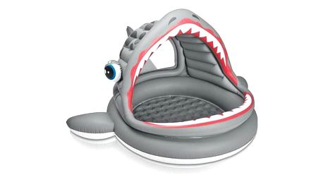 Intex Žralok se stříškou 201x198x109 cm (57120)