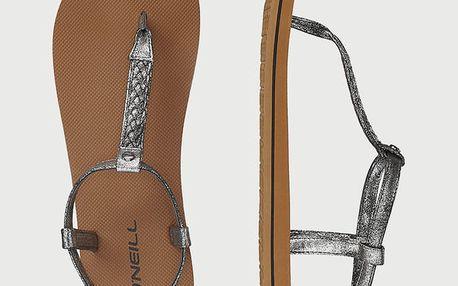 Sandály O´Neill Fw Braided Ditsy Plus Sandal Hnědá