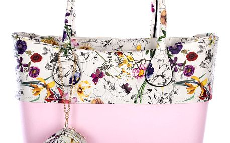 Fashion Icon Dámská kabelka plastová bag Flower
