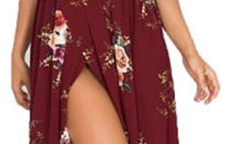 Květované šaty Boho - 7 barev