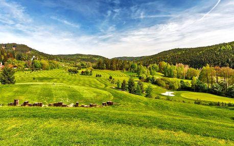 Luxusní wellness pobyt s neomezeným green fee