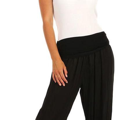 Dámské harémové kalhoty černá