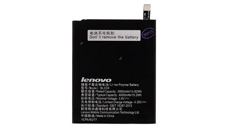 Baterie Lenovo BL234 pro P70, Li-Pol 4000mAh - bulk černá (BL234)