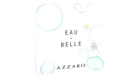 Azzaro Eau Belle d´Azzaro 50 ml dárková kazeta dárková sada pro ženy toaletní voda 50 ml + náhrdelník