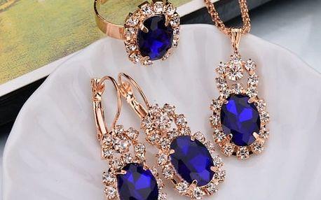 Sada šperků v retro provedení
