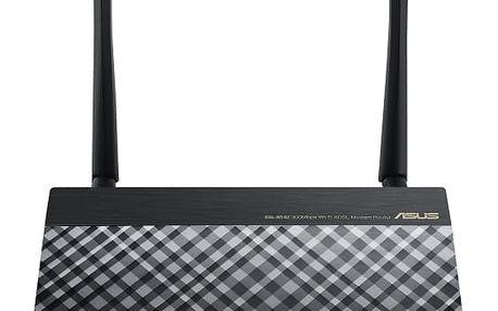Router Asus DSL-N14U černý (90IG00Z1-BM3020)