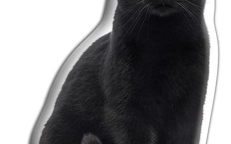 Polštářek Adorable Cushions Černá kočka