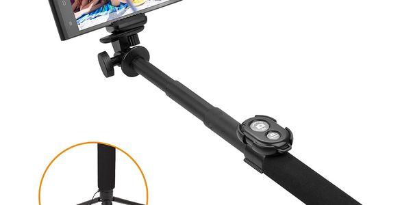 Selfie tyč GoGEN 5 teleskopická, bluetooth (GOGBTSELFIE5B) černá5