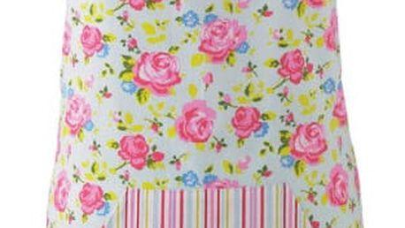 Barevná zástěra z bavlny Cooksmart England Florals