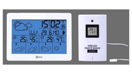 Meteorologická stanice EMOS E5068 bílá (E5068)