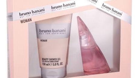 Bruno Banani Woman dárková kazeta pro ženy toaletní voda 40 ml + sprchový gel 150 ml