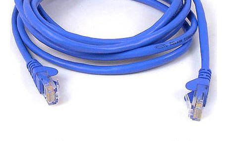 Kabel Belkin síťový (RJ45), 30m modrý (A3L791b30M-BLUS)