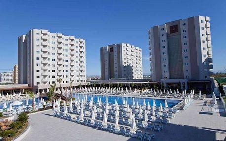 Turecko - Antalya na 8 dní, all inclusive s dopravou letecky z Prahy