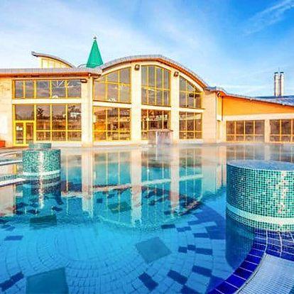 3–5denní wellness pobyt pro 2 osoby v hotelu Aqua*** v maďarském Sárváru