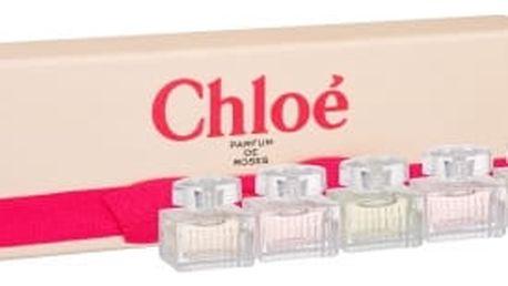 Chloe Mini Set 2 5x5 ml dárková kazeta pro ženy parfémovaná voda Chloe 2x 5 ml + toaletní voda L´Eau de Chloe 5 ml + toaletní voda Roses de Chloe 2x 5 ml miniatura