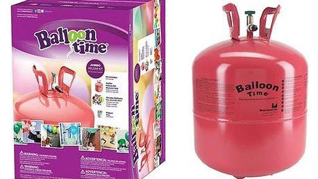 450litrová lahev helia na naplnění až 50 balonků