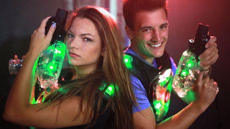 Laser game v největším komplexu v ČR: 2 arény