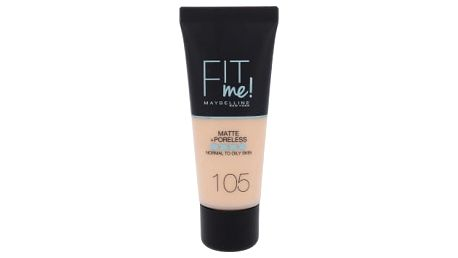 Maybelline Fit Me! Matte + Poreless 30 ml makeup pro ženy 105 Natural Ivory