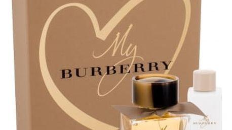 Burberry My Burberry dárková kazeta pro ženy parfémovaná voda 50 ml + tělové mléko 75 ml