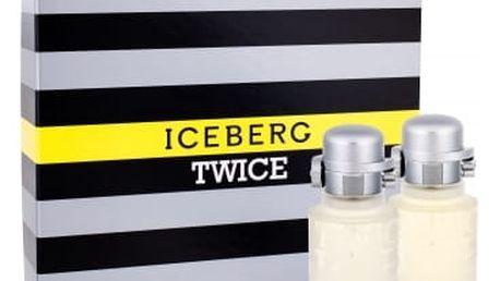 Iceberg Twice 75 ml dárková kazeta pro muže toaletní voda 75 ml + voda po holení 75 ml