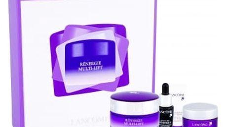 Lancome Rénergie Multi-Lift SPF15 dárková kazeta proti vráskám pro ženy denní pleťová péče 50 ml + noční pleťová péče 15 ml + péče o oční okolí 3 ml + pleťové sérum Advanced Genifique 7 ml
