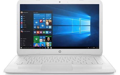 Notebook HP Stream 14-ax003nc (Z3C50EA#BCM) bílý Software F-Secure SAFE, 3 zařízení / 6 měsíců + Monitorovací software Pinya Guard - licence na 6 měsíců v hodnotě 1 178 Kč + DOPRAVA ZDARMA