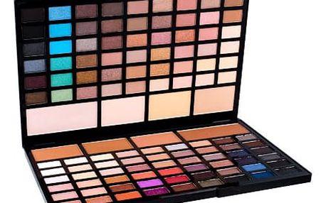 Makeup Revolution London Pro HD Eyes & Contour Palette 60,5 g oční stín W
