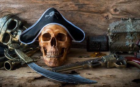 Únikovka Piráti: 60 min. zábavy pro 3–6 hráčů