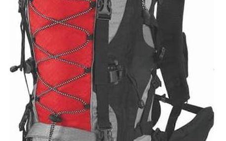 Loap Eiger 50+10 l šedý/červený