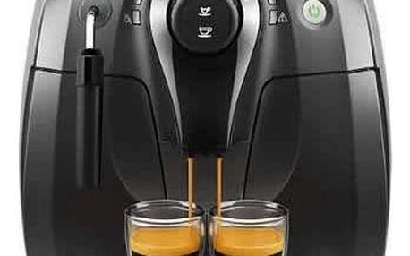 Espresso Philips HD8651/09 černé Káva zrnková Simon Lévelt BIO Uganda 250 g v hodnotě 159 Kč + DOPRAVA ZDARMA