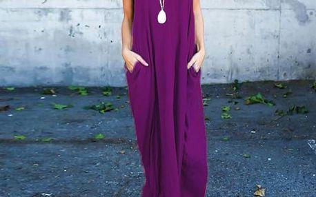 Dámské dlouhé letní šaty Brucie - 9 variant