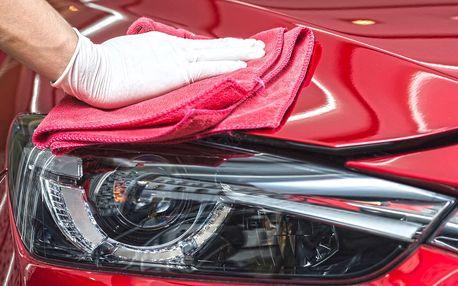 Ruční mytí vozu či rozleštění a renovace laku