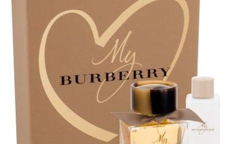 Burberry My Burberry 50 ml dárková kazeta pro ženy parfémovaná voda 50 ml + tělové mléko 75 ml