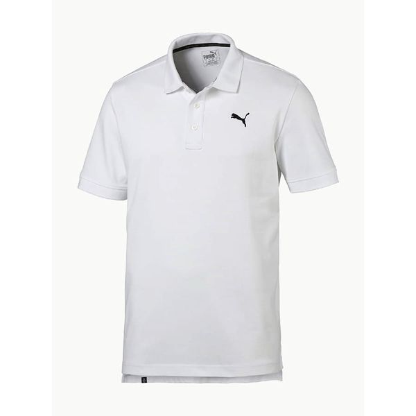 Tričko Puma ESS Pique Polo Bílá