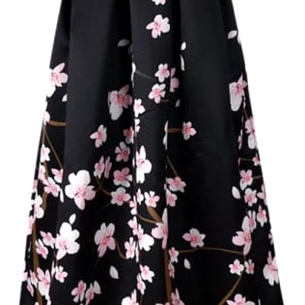 Dlouhá sukně s vysokým pasem - různé varianty