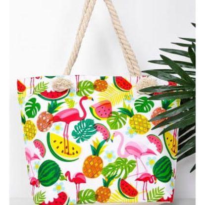Plážová taška s plameňáky Flamingo