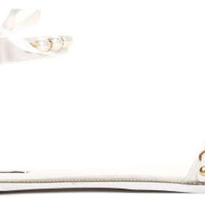 Dámské bílé sandály Mellinda 6110