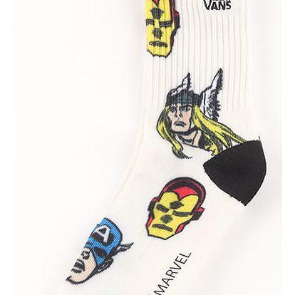 Ponožky Vans MN X (Marvel) Socks Avengers Bílá